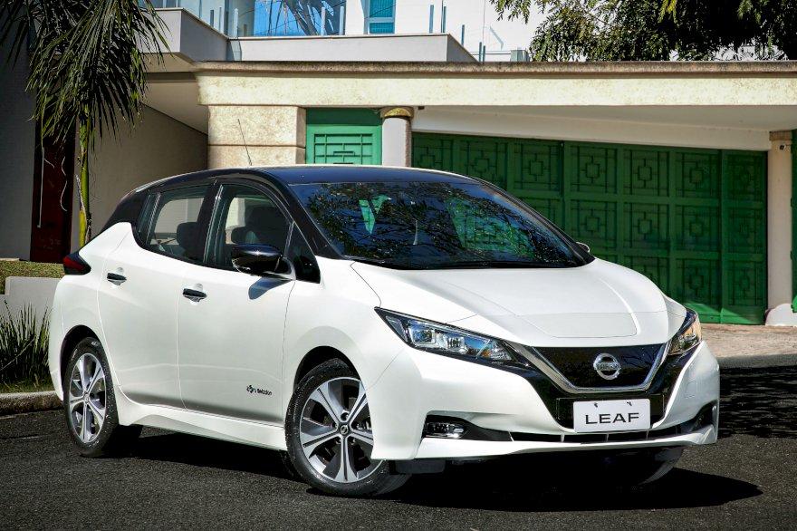 Nissan Leaf é lançado no Brasil