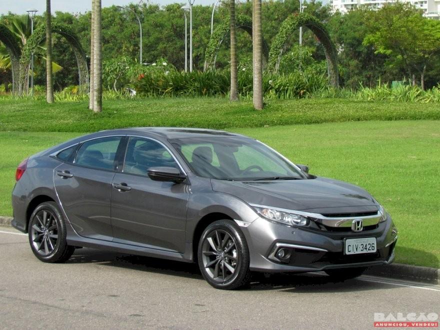 Testamos o Honda Civic EXL 2020