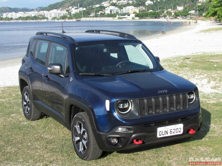 Testamos o Jeep Renegade Trailhawk 2021