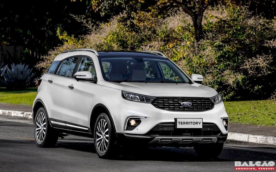 Ford inicia a pré-venda do Territory