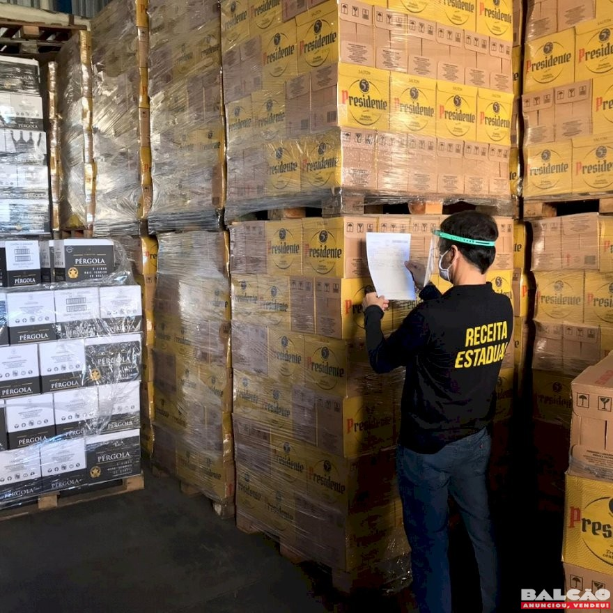 Receita Estadual desarticula esquema de fraudes no setor de vinhos