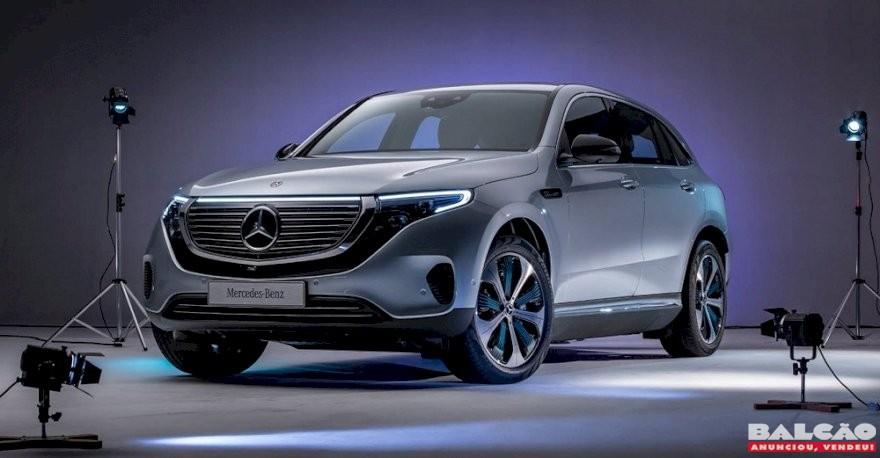 Começam as vendas do EQC 400, primeiro veículo elétrico da Mercedes-Benz no Brasil