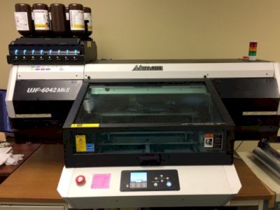 Mimaki UJF-6042 MkII Flatbed Inkjet UV-LED Printer