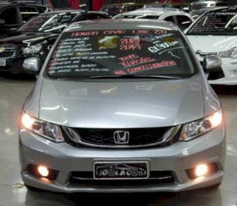 HONDA CIVIC SEDAN LXR 2.0 FLEX ANO 2015