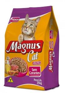 Magnus Cat Premium Gatos Adultos Sem Corantes 25 kg
