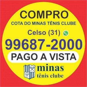 Compro cota do Minas Tênis Clube, pago à vista e imediato
