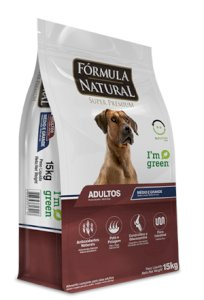 Fórmula Natural Super Premium Cães Filhotes Portes Médio Grande - 15kg