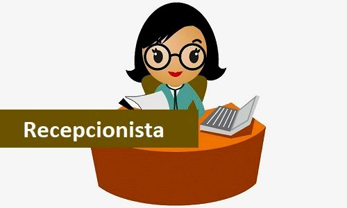Recepcionista se oferece com experiência e ótimas referências
