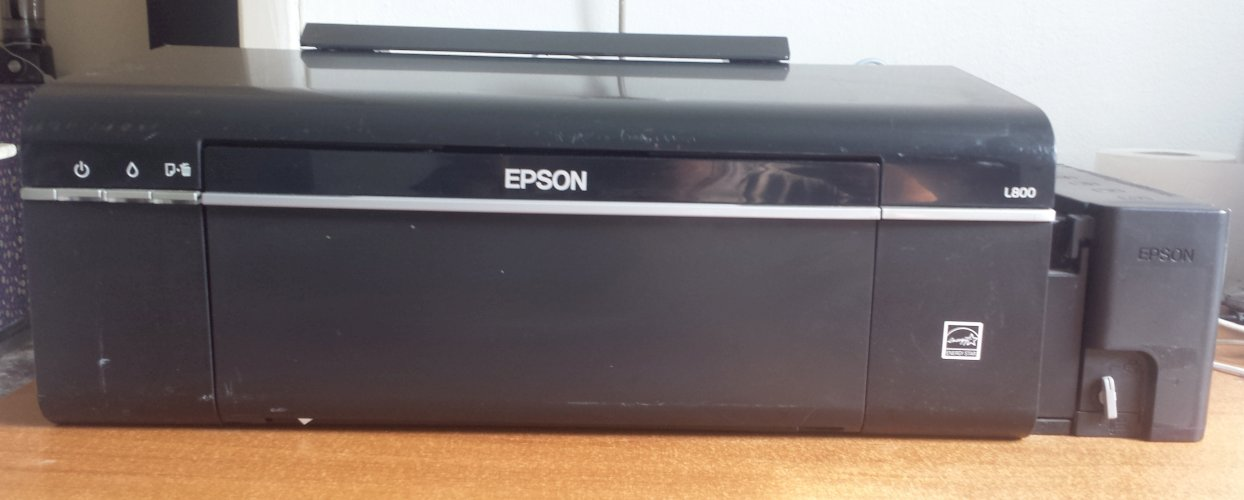 Impressoras Epson Ecotank L800(6 cores)