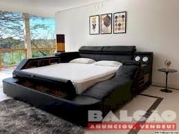 Smart Bedz Las Vegas Cama Multifuncional Don Mills Temos a pronta entrega em branco, marrom e preta
