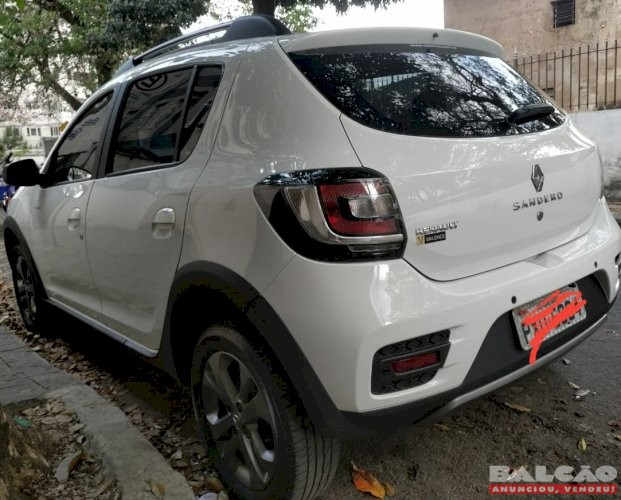 Renault Sandero Rip Curl Ano 2016/2017 revisões na concessionária carro de garagem