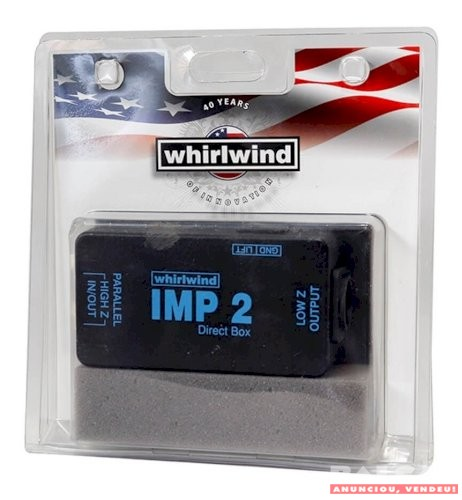 Direct Box Whirlwind Imp 2 Musicalcenter Magnelson