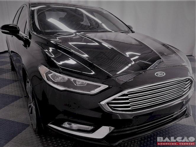 Ford Fusion Titanium Ecoboost 2.0 FWD Powershift Ano 2017 IPVA 2020 Pago!!!