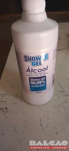 Álcool em gel de 500 ml Aceitamos cartões e entregamos em BH