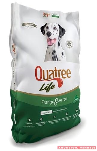 Ração Quatree Life para Cães e Gatos - Sem Transgênicos